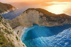 חוף הספינה זקינטוס -יוון