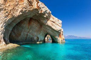 המערות הכחולות זקינטוס