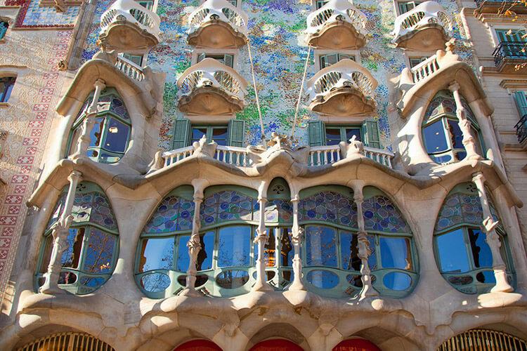 בניין אומנות בברצלונה