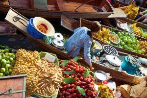 שווקים צפים תאילנד