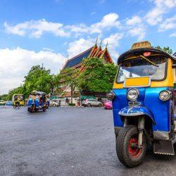 כלי התחבורה התאילנדי אפשר לראות בכל תאילנד